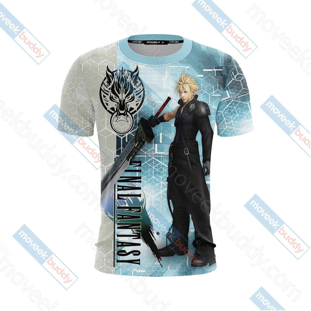 Final Fantasy - Cloud Unisex 3D T-shirt