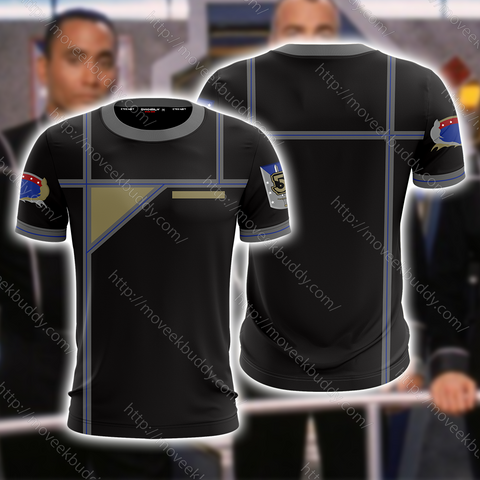 Image of Babylon 5 Army Of Light Uniform Cosplay Unisex 3D T-shirt
