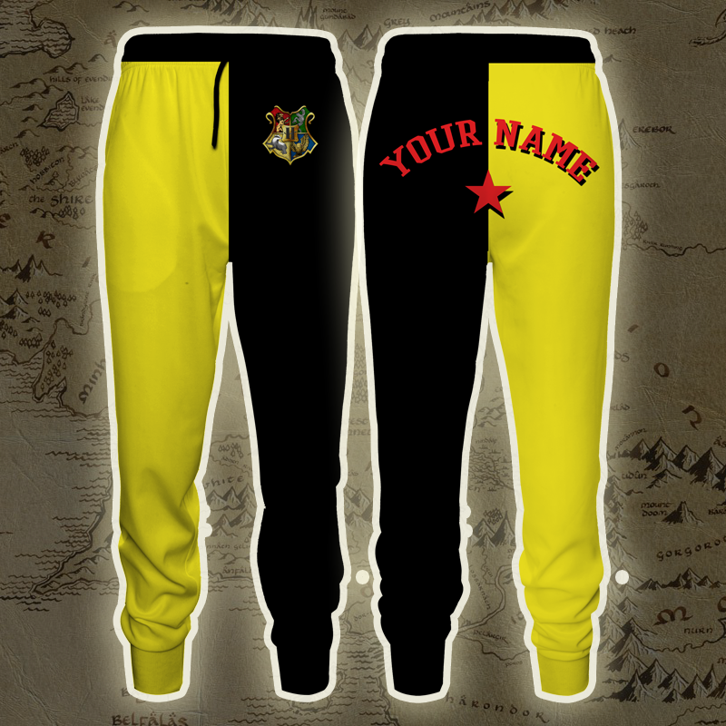Triwizard Tournament Harry Potter Diggory (Customized Name) Jogging Pants
