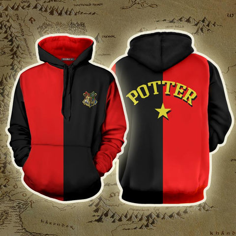Triwizard Tournament Harry Potter (Potter) 3D Hoodie