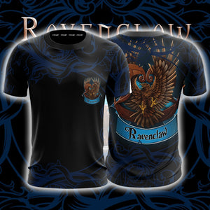 Wise Like A Ravenclaw Harry Potter Unisex 3D T-shirt