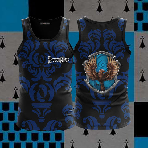 Wise Like A Ravenclaw Harry Potter New Collection 3D Tank Top