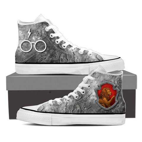 Image of The Gryffindor Lion Harry Potter High Top Shoes