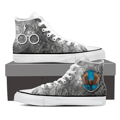 The Ravenclaw Eagle Harry Potter High Top Shoes