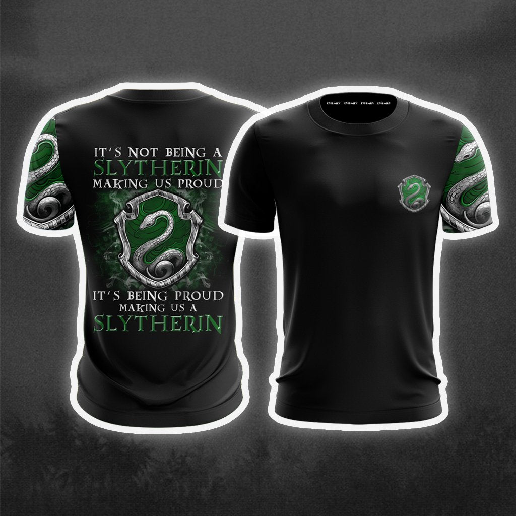 It's Being Proud Making Us A Slytherin Harry Potter New Collection Unisex 3D T-shirt