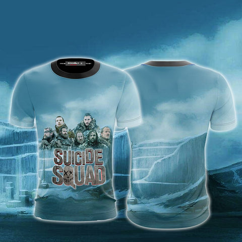 Image of Suicide Squad Game Of Thrones Version Unisex 3D T-shirt