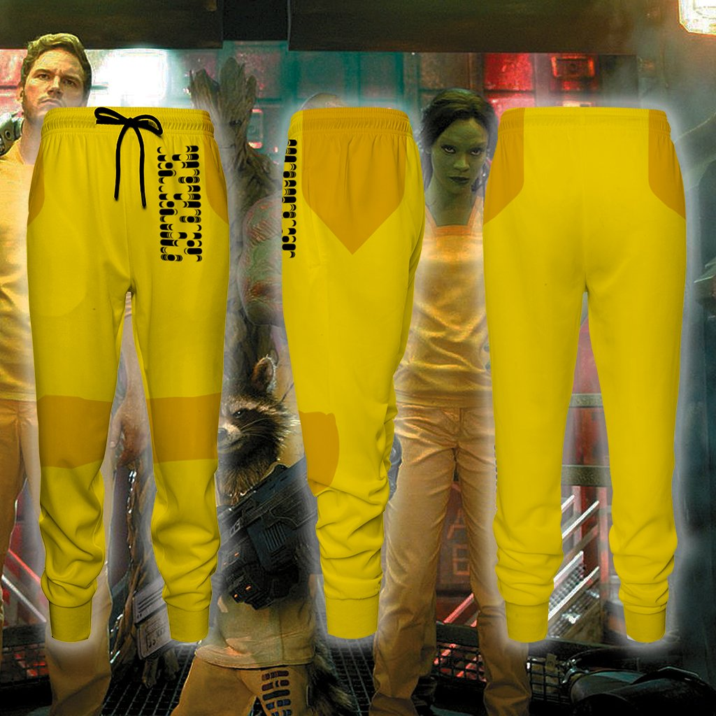Guardians Of The Galaxy Prison Version Cosplay Jogging Pants