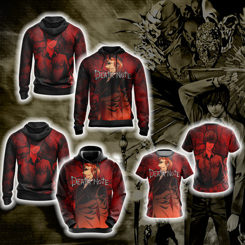Death Note - Light Yagami Unisex 3D Hoodie