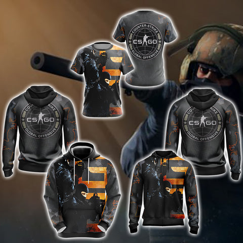 Image of Counter-Strike New Look Unisex 3D T-shirt