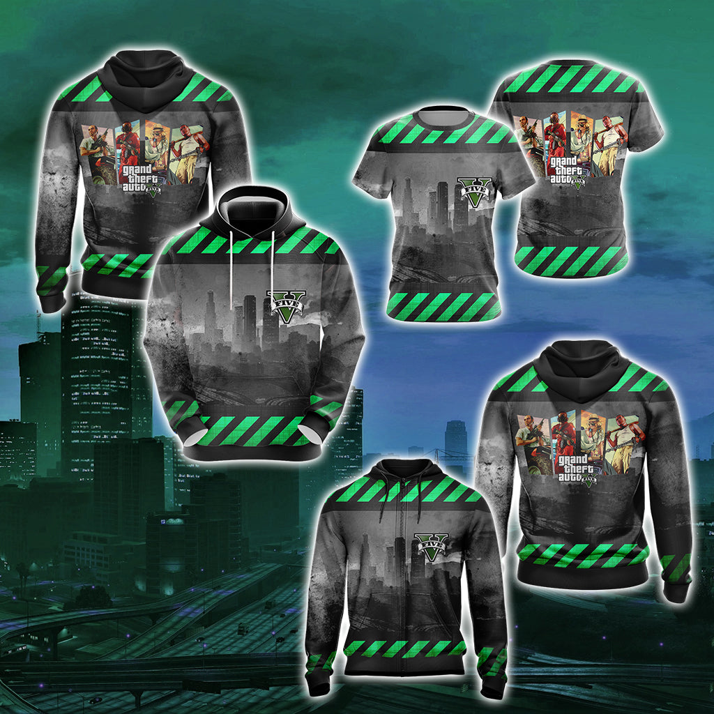 Grand Theft Auto V New Style Unisex 3D T-shirt