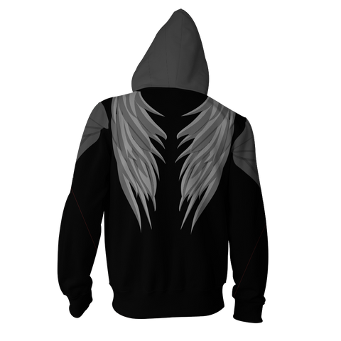 Image of The Hunger Games: Mockingjay Katniss Everdeen (Black) Cosplay Zip Up Hoodie Jacket
