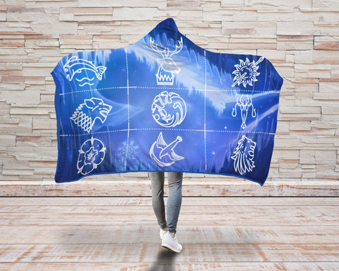 Image of Game Of Thrones 3D Hooded Blanket