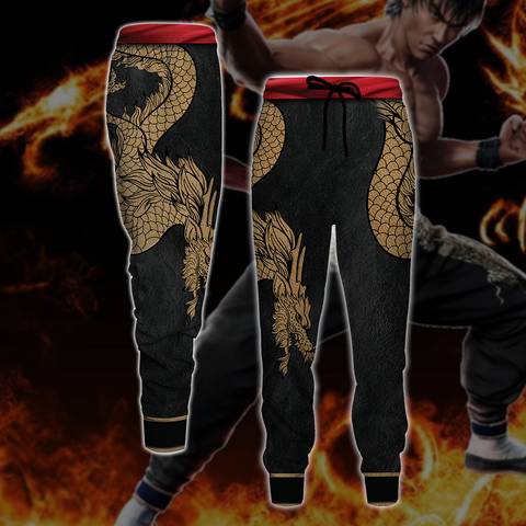 Tekken Marshall Law Cosplay 3D Jogging Pants
