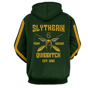 Slytherin Quidditch Team Harry Potter Hoodie