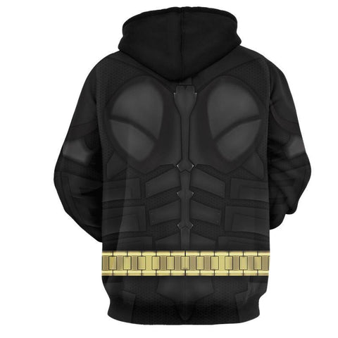 Image of Batman Cosplay 3D Hoodie