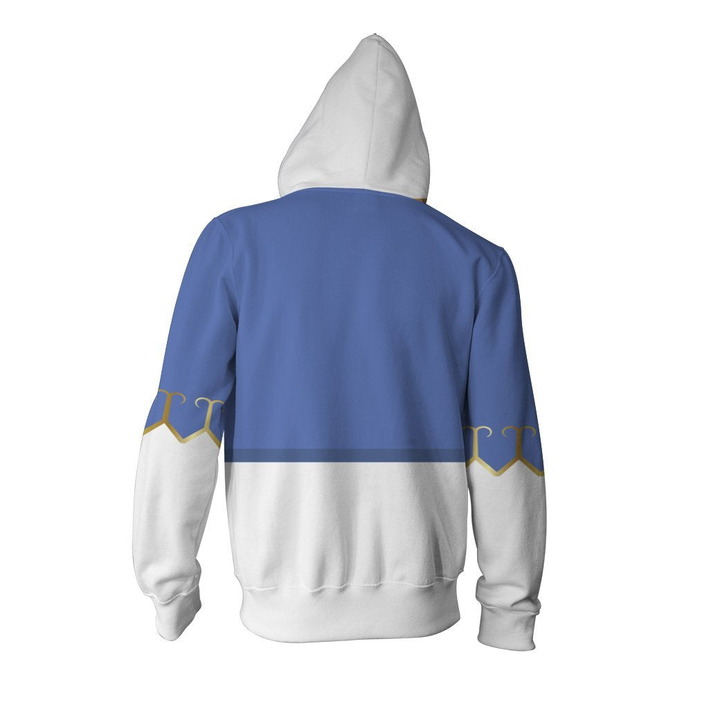 Street Fighter Chun-Li Cosplay Zip Up Hoodie Jacket