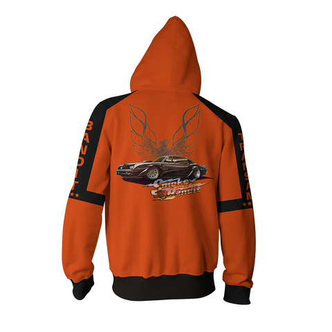 Image of Smokey And The Bandit Zip Up Hoodie