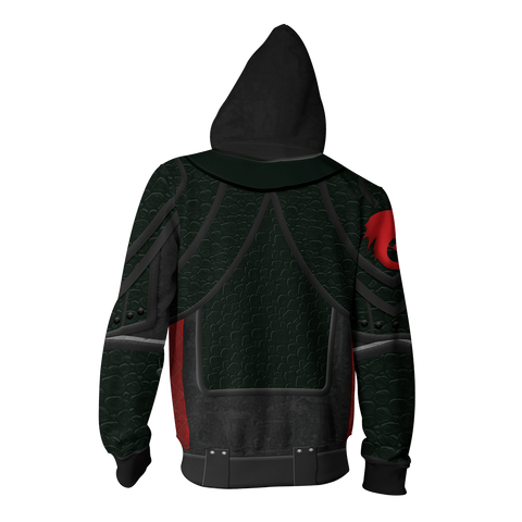 How To Train Your Dragon 3 Hiccup Cosplay Zip Up Hoodie
