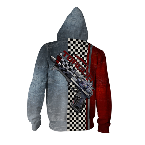 Image of Borderlands Torgue Zip Up Hoodie