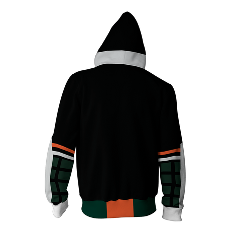 Boku No Hero Academia Katsuki Bakugou Cosplay Zip Up Hoodie Jacket