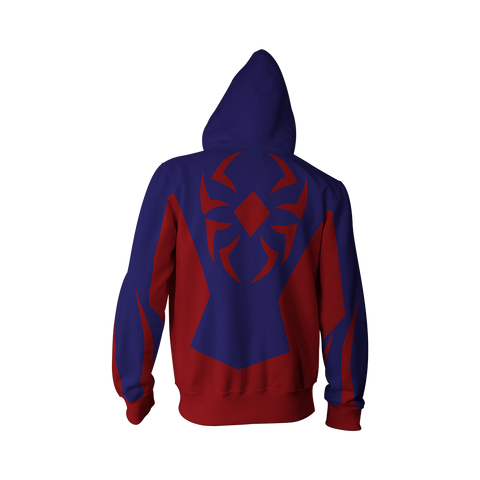 Image of Scarlet Spider (Ben Reilly) Cosplay Zip Up Hoodie Jacket