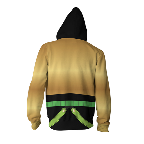 JoJoäó»s Bizarre Adventure: Stardust Crusaders Dio Brando Cosplay Zip Up Hoodie Jacket