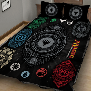 Magic: The Gathering Ornaments 3D Quilt Bed Set