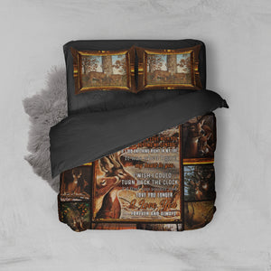 Couple 3D Deer Bed Set - My only love, meeting you was a fate. I love you forever and always