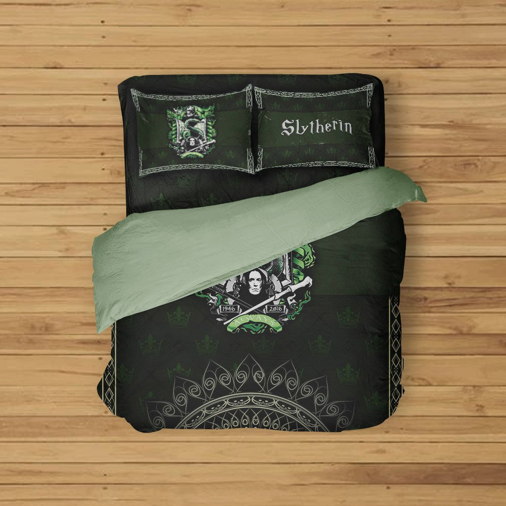 Mandala Slytherin Harry Potter Bed Set