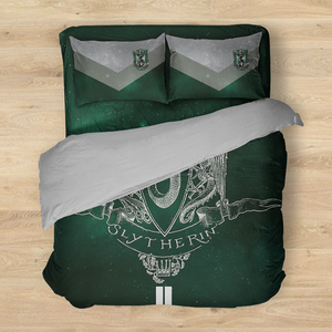 Slytherin Edition Harry Potter New Bed Set