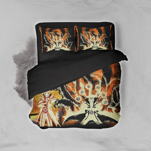 Image of Naruto Hokage 3D Bed Set