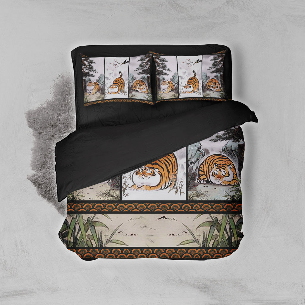 Fat Tiger 3D Bed Set