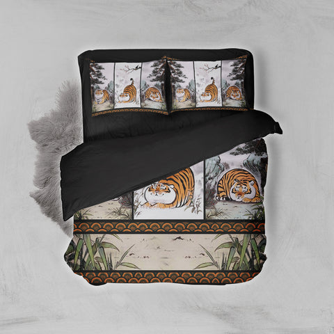 Image of Fat Tiger 3D Bed Set