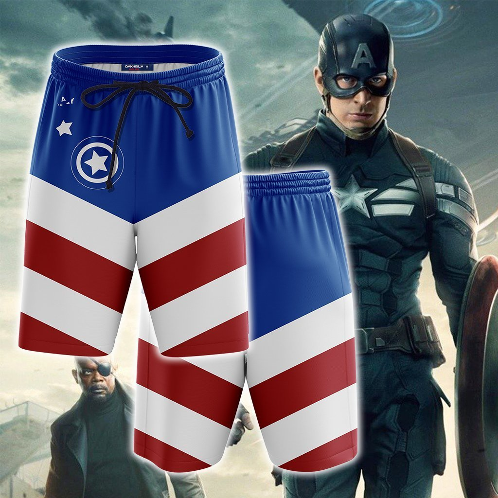 Captain America New Collection Beach Short
