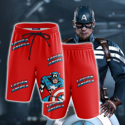 Image of Captain America New Collection Beach Short