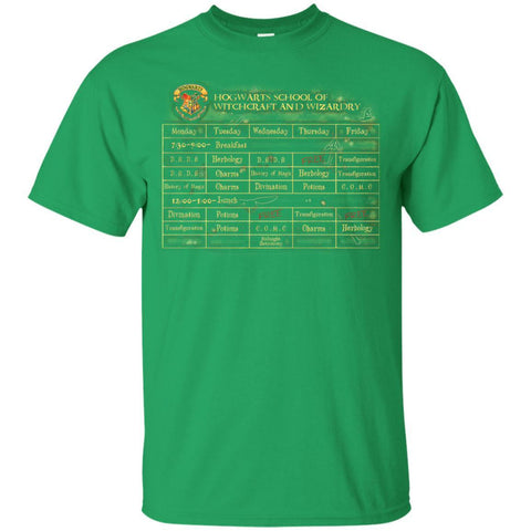 Image of Harry's Schedule Harry Potter Shirt