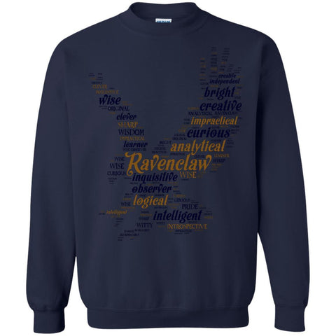 Image of Ravenclaw House Harry Potter Fan ShirtG180 Gildan Crewneck Pullover Sweatshirt 8 oz.