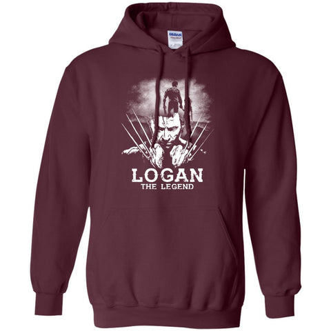 Image of Logan The Legend Wolverine Fan T-shirtG185 Gildan Pullover Hoodie 8 oz.