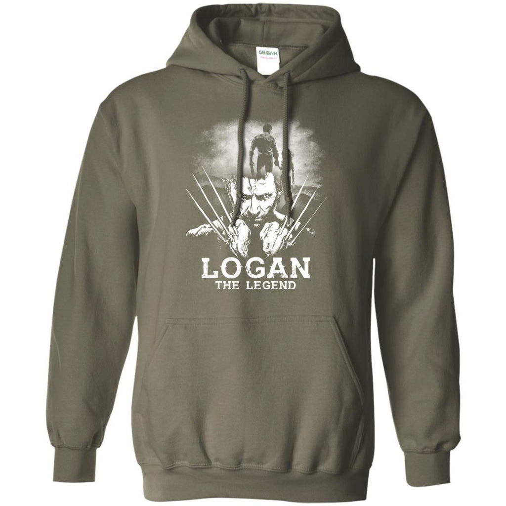 Logan The Legend Wolverine Fan T-shirtG185 Gildan Pullover Hoodie 8 oz.