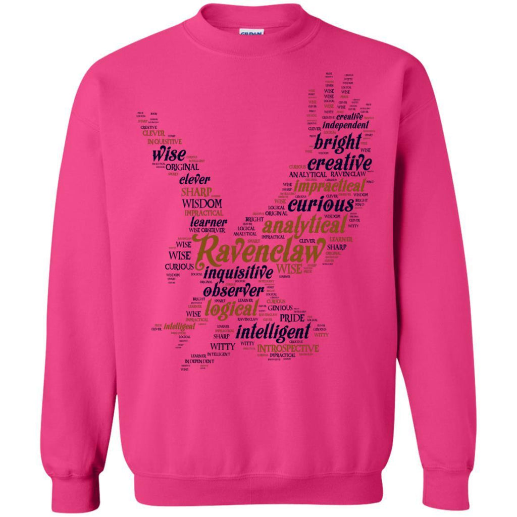 Ravenclaw House Harry Potter Fan ShirtG180 Gildan Crewneck Pullover Sweatshirt 8 oz.