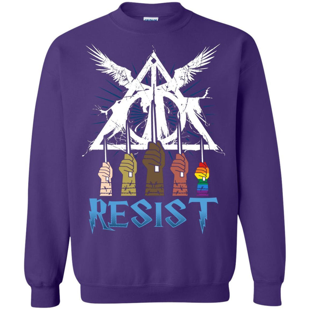 Resist Harry Potter Fan T-shirtG180 Gildan Crewneck Pullover Sweatshirt 8 oz.