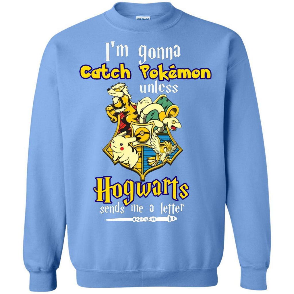 I'm Gonna Catch Pokemon Unless Hogwarts Sends Me A Letter Harry Potter T-shirt