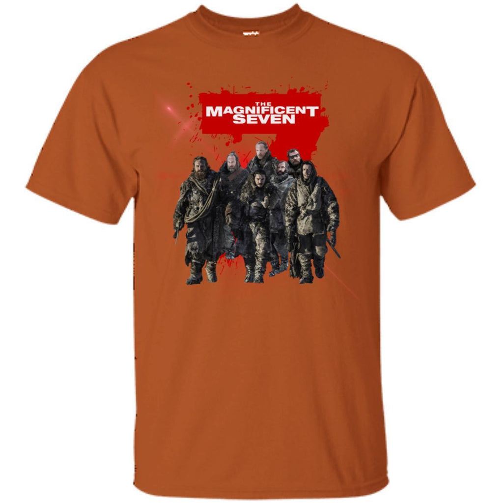 The Magnificent Seven Game Of Thrones Version T-shirt