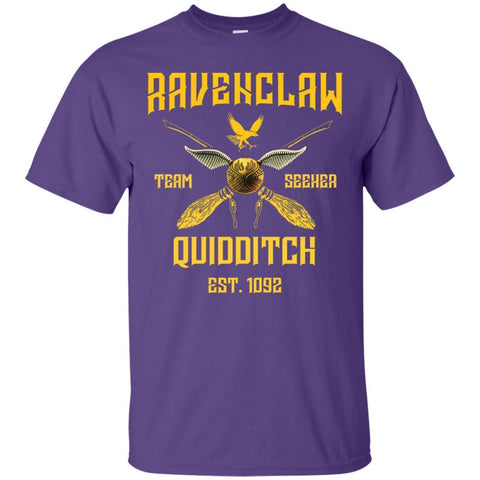 Image of Ravenclaw Quiddith Team Seeker Est 1092 Harry Potter ShirtG200 Gildan Ultra Cotton T-Shirt