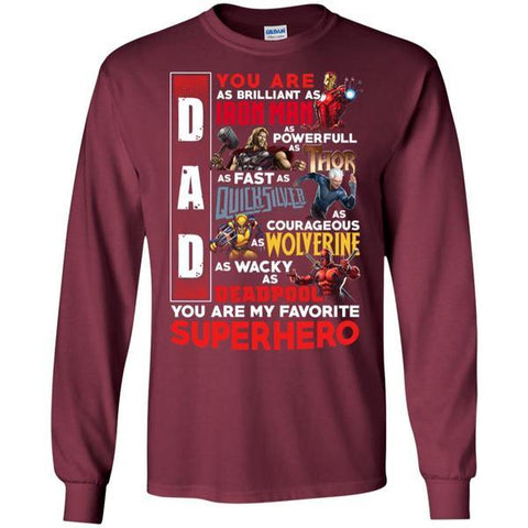 Image of You Are My Favorite Superhero Daddy T-shirt