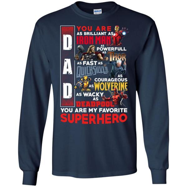 You Are My Favorite Superhero Daddy T-shirt
