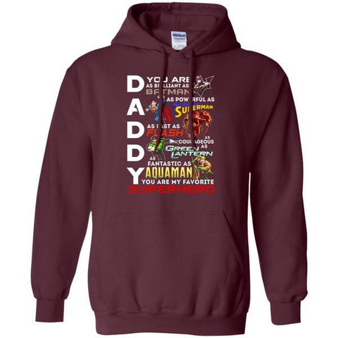 Image of You Are My Favorite Superhero Daddy Shirt