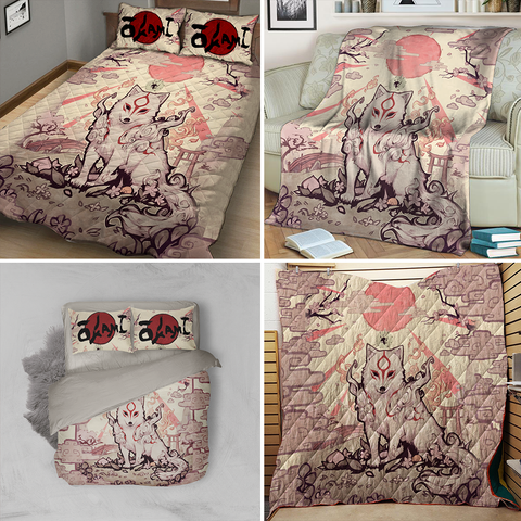 Image of Okami New 3D Quilt Set