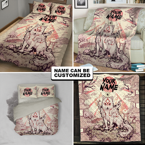 Image of Okami-Customized 3D Throw Blanket