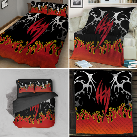Image of Tekken Jin Kazama Symbol 3D Bed Set